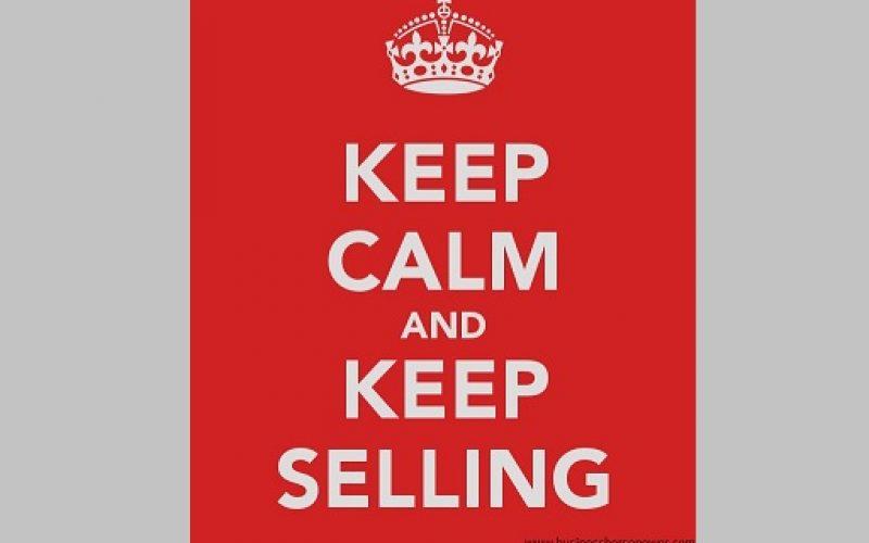 Ali ti je zoprno prodajati?